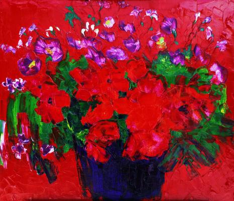 Alexander Ocher Kandinsky-DAE. Turkmensky still life.