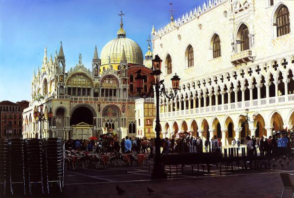 Raffaella Spence. St. Mark's square in Venice