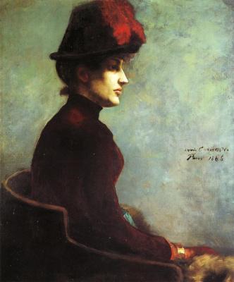 Ловис Коринт. Портрет дамы