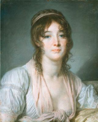 Жан-Батист Грёз. Портрет мадам Батист