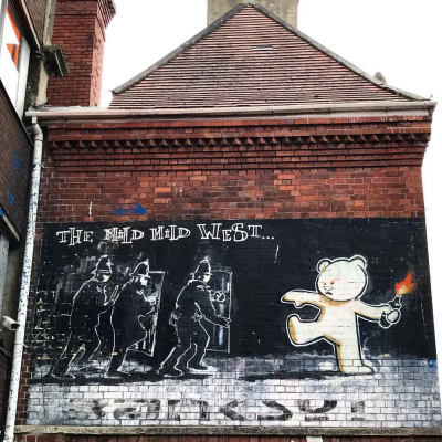 Banksy. Soft, soft West