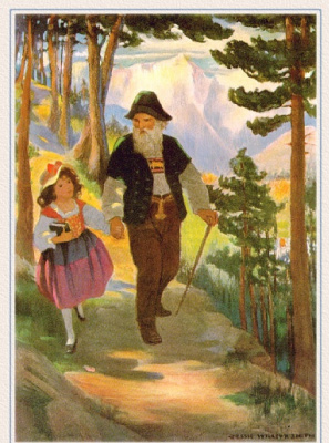 Джесси Уиллкокс Смит. Прогулка по лесу