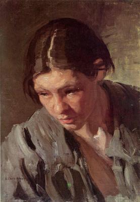 Nikolay Alekseevich Kasatkin. Torfyanka. Etude