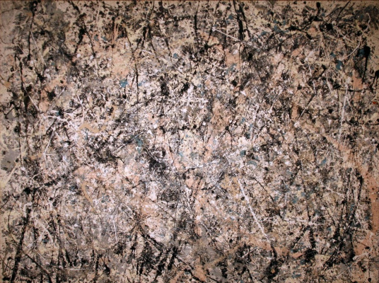 Jackson Pollock. Number 1 (Lavender mist)