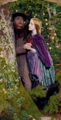 Arthur Hughes. Long engagement