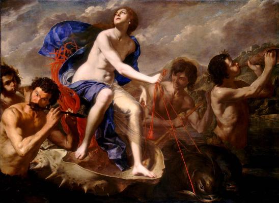 Artemisia Gentileschi. Triumph of Galatea