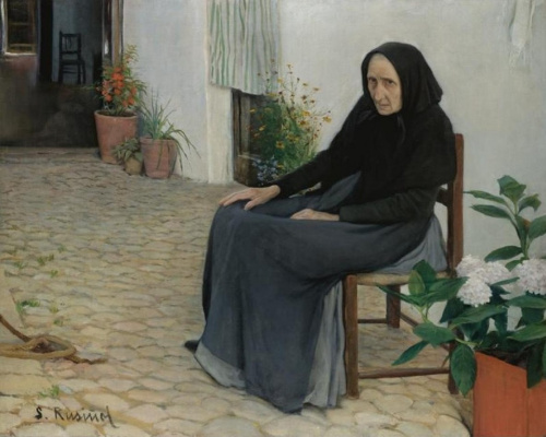 Santiago Rusignol. L'Abia (The grandmother)