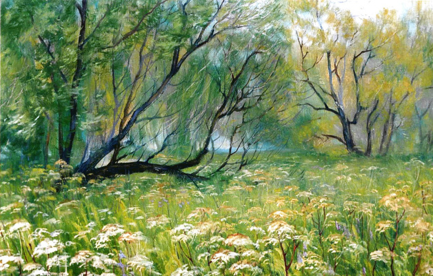 Konstantin Leonidovich Antipov. June morning