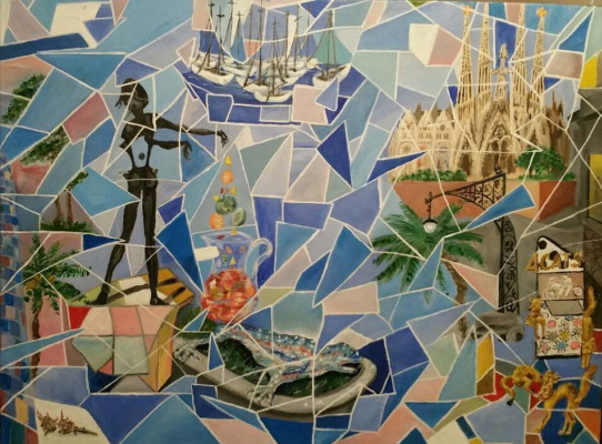 Lyudmila Nikolaevna Kulikova. Mosaic of memories of Barcelona