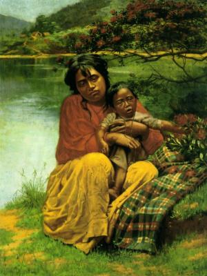 Чарльз Голди. Мечты о Рождестве в земле маори