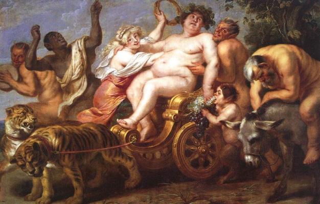 Cornelis de Vos. The Triumph Of Bacchus