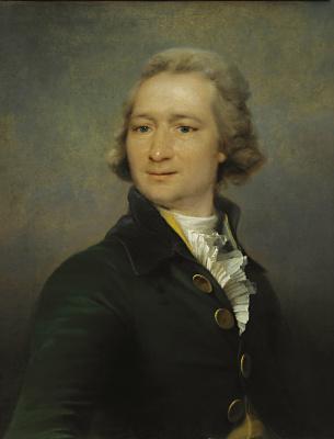 Дмитрий Григорьевич Левицкий. Портрет И.И.Дмитриева. 1790-е
