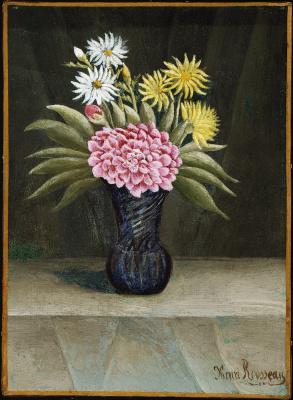 Henri Rousseau. Vase of Flowers