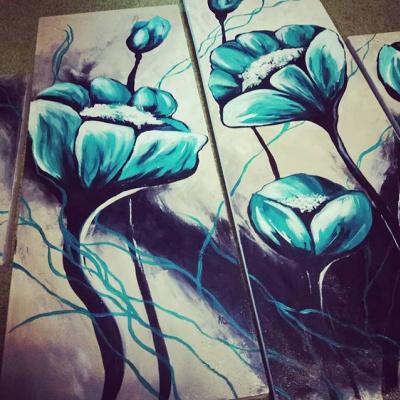 Elizaveta Denisova. Flowers