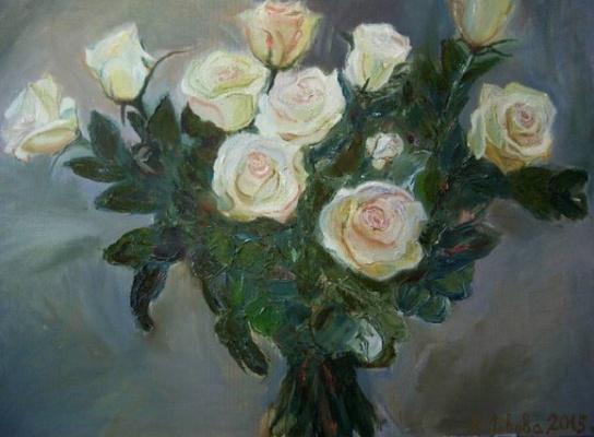 Alla Yurievna Lviv. White Rose