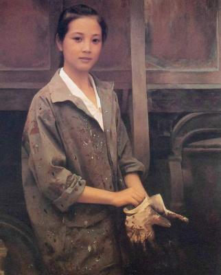 Хан-Ву Шен. Молодая работница