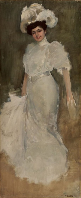 Ramon Casas i Carbó. Portrait of Julia Casas