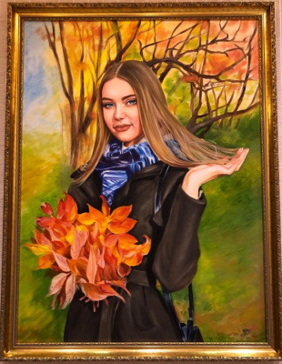 Хельга Эдуардовна Григорьева. Portraits of oil.