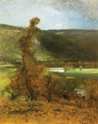 George Innes. White horse ledge