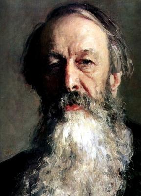 Ilya Efimovich Repin. Portrait Of V. V. Stasov. Detail