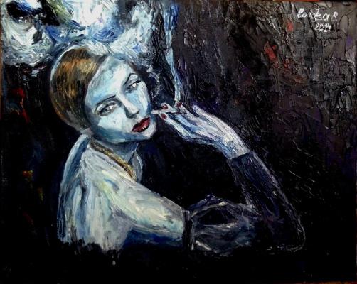Евгения Сопова. Портрет женщины