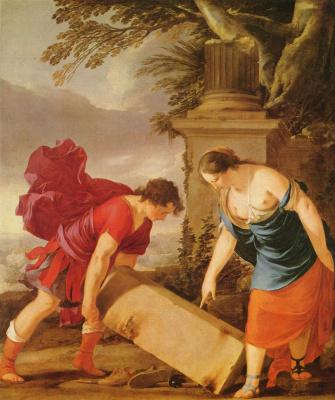 Лоран де ла Ла Ир. Тезей и Этра