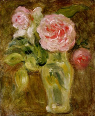 Berthe Morisot. Roses