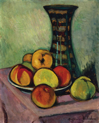 Suzanne Valadon. Still life with fruit