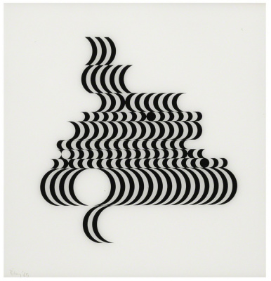 Bridget Riley. Untitled (fragment 2)