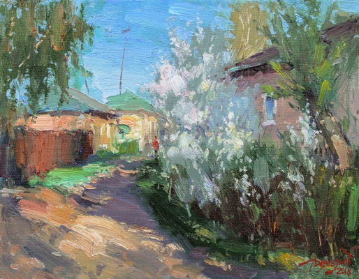 Yuri Demyanov. May evening
