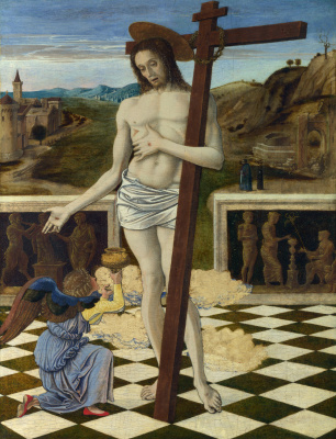 Giovanni Bellini. Blood of the Redeemer