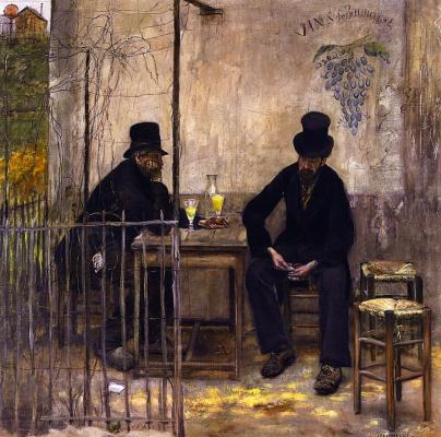 Жан-Франсуа Рафаэлли. Пьющие абсент