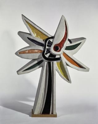 Fernand Leger. Polychrome flower