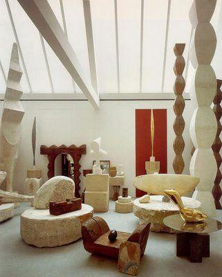 Constantine Brancusi. Memorial Studio of Brancusi in Paris.