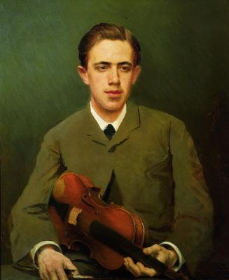 Иван Николаевич Крамской. Портрет Николая Ивановича Крамского, сына художника