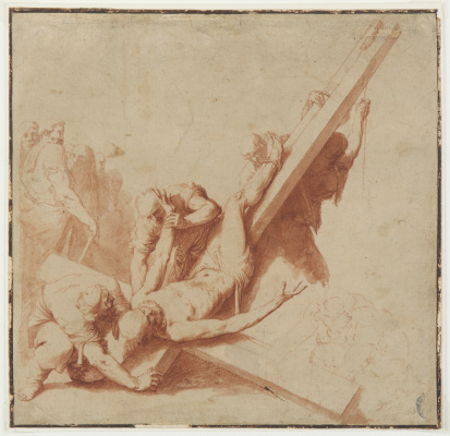 Jose de Ribera. Crucifixion of Saint Peter