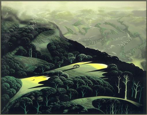 Eivind Earl. Fog, storm and rain