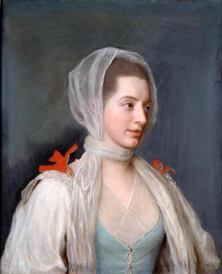 Jean-Etienne Lyotard. Portrait of lady Charles Spencer