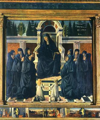 Андреа дель Вероккьо. Saint Monica