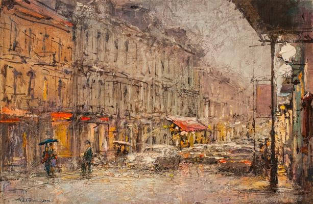 Andrew Hooke. Kyiv, vul.Sahaidachny