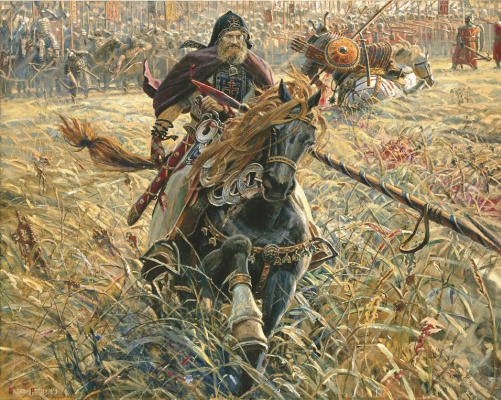 Pavel Viktorovich Ryzhenko. The Victory Of Peresvet