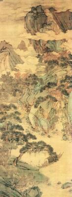 Shen Zhou. Landscape 047