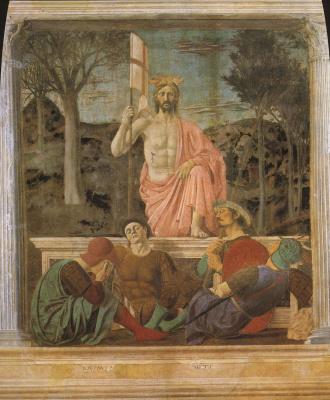 Piero della Francesca. The Resurrection Of Christ