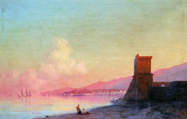 Ivan Aivazovsky. Theodosius. Sunrise