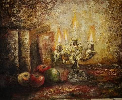 Алина Евгеньевна Шварёва (Галкина). Candlelight