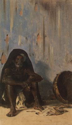 Vasily Vasilyevich Vereshchagin. Coolie (Porter)