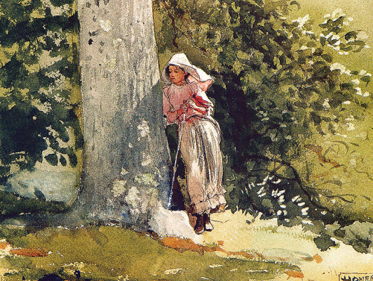 Winslow Homer. Tired
