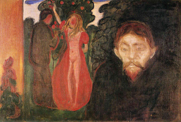 Edvard Munch. Jealousy
