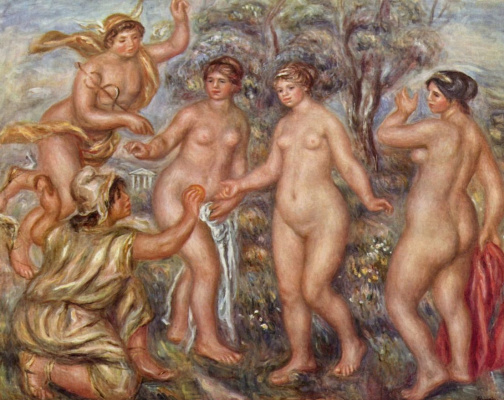 Pierre-Auguste Renoir. The Judgment Of Paris