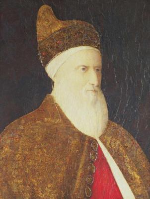 Gentile Bellini. Portrait of Agostino Barbarigo